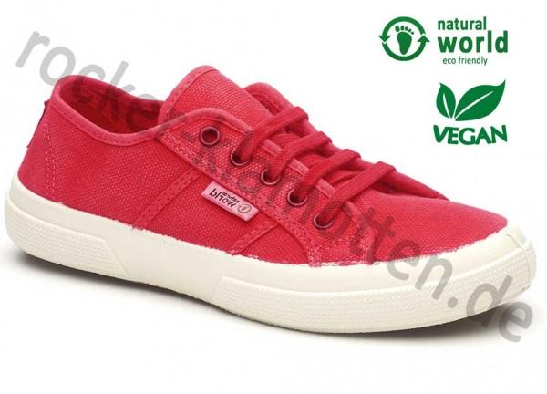 Vegane Sneaker 901E von natural world in rot (rojo)