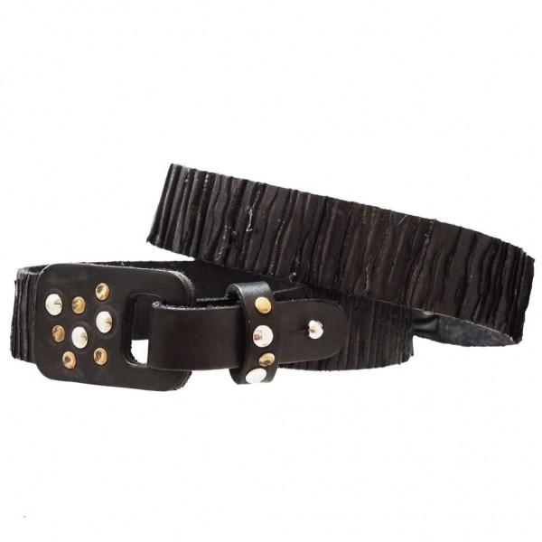 Stiefelbänder aus Italien aus gekerbtem Leder