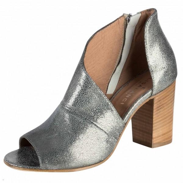 Hochschaft Sandale aus Italien Farbe: acciaio