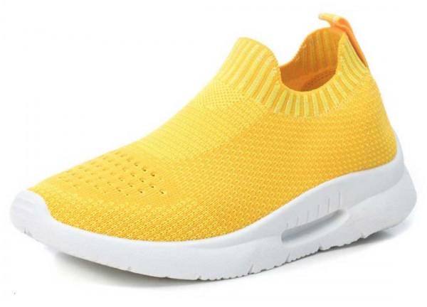 Stretch Sneaker aus Spanien, sonnengelb (amarillo)