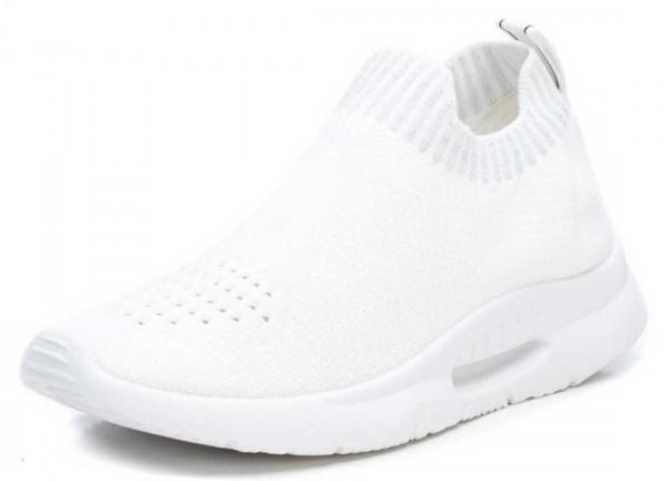 Stretch Sneaker aus Spanien, weiß mit grau (blanco)