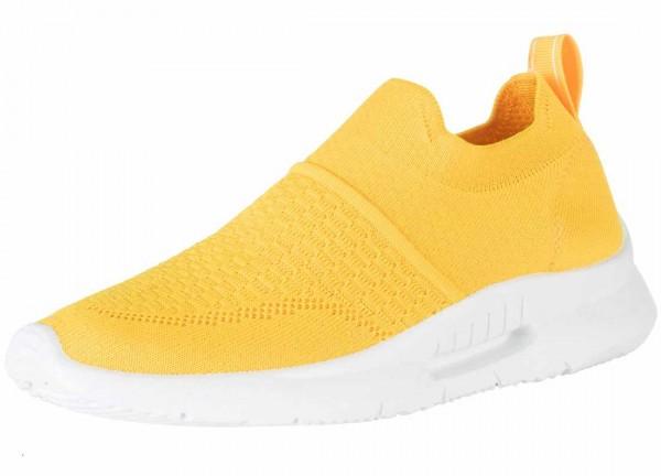 Bequemer Sneaker aus Spanien, Stretch, Farbe amarillo