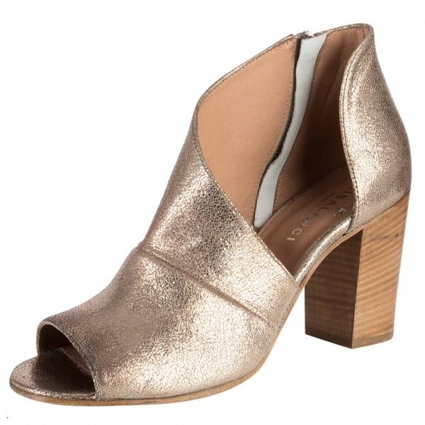 Hochschaft Sandale aus Italien Farbe: oro