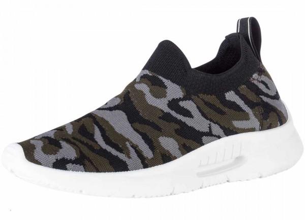 Bequemer Sneaker aus Spanien, Stretch, Farbe camouflaje