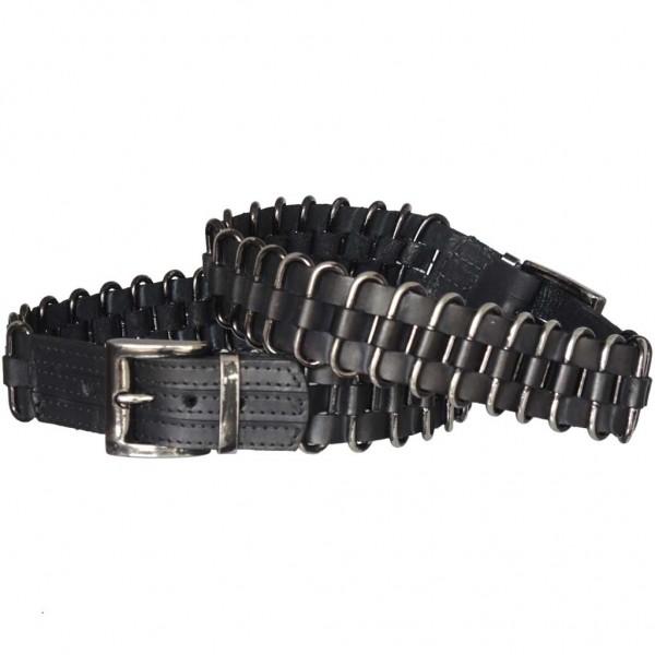 Stiefelbänder aus Italien mit eingeflochtenen Ringen