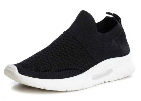 Bequemer Sneaker aus Spanien, Stretch, Farbe schwarz (negro)